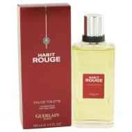 HABIT ROUGE by Guerlain - Cologne / Eau De Toilette Spray 100 ml d. herra