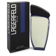 Lagerfeld Man by Karl Lagerfeld - Eau De Toilette Spray 100 ml d. herra