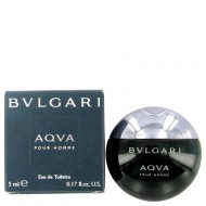AQUA POUR HOMME by Bvlgari - Mini EDT 5 ml f. herra