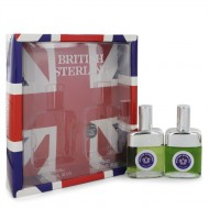 BRITISH STERLING by Dana - Gjafasett- 2.5 oz Cologne Spray + 2.5 oz After Shave f. herra