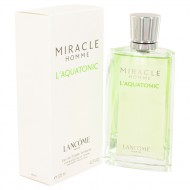 MIRACLE L'AQUATONIC by Lancome - Eau De Toilette Spray 125 ml f. herra