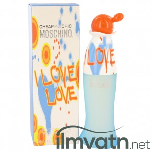 I Love Love by Moschino - Eau De Toilette Spray 100 ml f. dömur