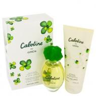 CABOTINE by Parfums Gres - Gjafasett - 3.4 oz Eau De Toilette Spray + 6.7 oz Body Lotion f. dömur