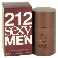 212 Sexy by Carolina Herrera - Eau De Toilette Spray 50 ml f. herra