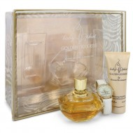 Golden Goddess by Kimora Lee Simmons - Gjafasett- 3.4 oz Eau De Parfum Spray + 2.5 oz Body Lotion + Watch f. dömur