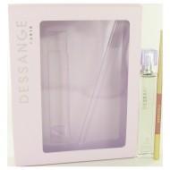 Dessange by J. Dessange - Eau De Parfum Spray With Free Lip Pencil 50 ml f. dömur