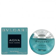 Bvlgari Aqua Marine by Bvlgari - Mini EDT 5 ml f. herra