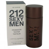212 Sexy by Carolina Herrera - Eau De Toilette Spray (Tester) 100 ml f. herra