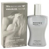Rocky Man Silver by Jeanne Arthes - Eau De Toilette Spray 100 ml f. herra