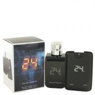 24 The Fragrance by ScentStory - Eau De Toilette Spray + 0.8 oz Mini Pocket Spray 100 ml d. herra