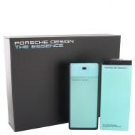The Essence by Porsche - Gjafasett - 2.7 oz Eau De Toilette Spray + 6.8 oz Shower Gel d. herra