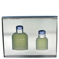 Light Blue by Dolce & Gabbana - Gjafasett - 4.2 oz Eau De Toilette Spray + 1.3 oz Eau De Toilette Spray f. herra