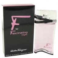 F for Fascinating Night by Salvatore Ferragamo - Eau De Parfum Spray 90 ml f. dömur