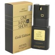 One Man Show Gold by Jacques Bogart - Eau De Toilette Spray 100 ml f. herra