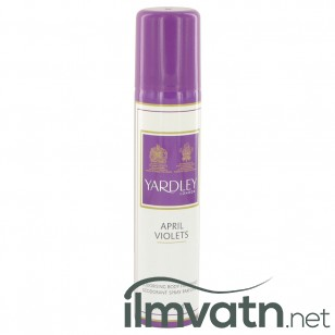 April Violets by Yardley London - Body Spray 77 ml f. dömur
