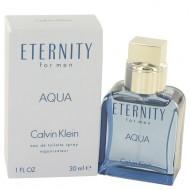 Eternity Aqua by Calvin Klein - Eau De Toilette Spray 30 ml f. herra