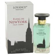 Fling In New York by Lovance - Eau De Toilette Spray 100 ml f. herra