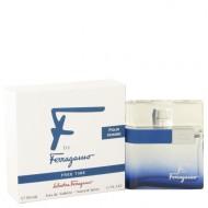 F Free Time by Salvatore Ferragamo - Eau De Toilette Spray 50 ml d. herra