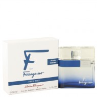 F Free Time by Salvatore Ferragamo - Eau De Toilette Spray 50 ml f. herra