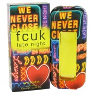 FCUK Late Night by French Connection - Eau De Toilette Spray 100 ml f. dömur