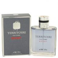 Territoire Sport by YZY Perfume - Eau De Parfum Spray 100 ml f. herra