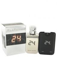 24 Platinum The Fragrance by ScentStory - Eau De Toilette Spray + 0.8 oz Mini Pocket Spray 100 ml f. herra