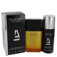 AZZARO by Azzaro - Gjafasett - 3.4 oz Eau De Toilette Spray + 5.1 oz Deodorant Spray f. herra