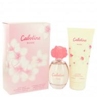 Cabotine Rose by Parfums Gres - Gjafasett - 3.4 oz Eau De Toilette Spray + 6.7 oz Body Lotion f. dömur