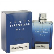 Acqua Essenziale Blu by Salvatore Ferragamo - Eau De Toilette Spray 100 ml d. herra