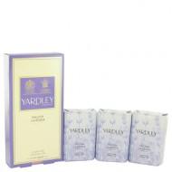 English Lavender by Yardley London - 3 x 3.5 oz Soap 104 ml f. dömur
