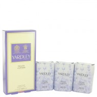 English Lavender by Yardley London - 3 x 3.5 oz Soap 104 ml f. dömur