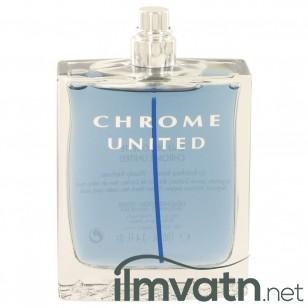 Chrome United by Azzaro - Eau De Toilette Spray (Tester) 100 ml f. herra