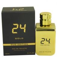 24 Gold Oud Edition by ScentStory - Eau De Toilette Concentree Spray (Unisex) 100 ml f. herra