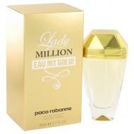 Lady Million Eau My Gold by Paco Rabanne - Eau De Toilette Spray 80 ml f. dömur