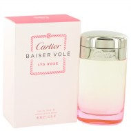 Baiser Vole Lys Rose by Cartier - Eau De Toilette Spray 100 ml f. dömur