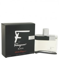 F Black by Salvatore Ferragamo - After Shave Lotion 100 ml d. herra