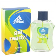 Adidas Get Ready by Adidas - Eau De Toilette Spray 100 ml f. herra