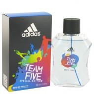 Adidas Team Five by Adidas - Eau De Toilette Spray 100 ml d. herra