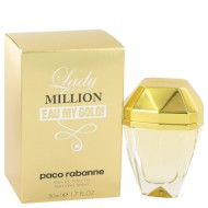 Lady Million Eau My Gold by Paco Rabanne - Eau De Toilette Spray 50 ml f. dömur