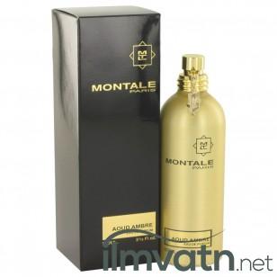 Montale Aoud Ambre by Montale - Eau De Parfum Spray (Unisex) 100 ml f. dömur