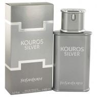 Kouros Silver by Yves Saint Laurent - Eau De Toilette Spray 100 ml d. herra