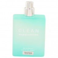 Clean Warm Cotton by Clean - Eau De Parfum Spray (Tester) 63 ml f. dömur
