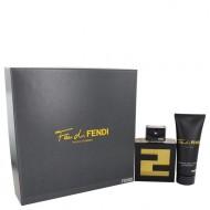 Fan Di Fendi by Fendi - Gjafasett - 3.4 oz Eau De Toilette Spray + 3.3 oz Shower Gel f. herra