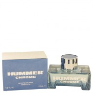 Hummer Chrome by Hummer - Eau De Toilette Spray 125 ml f. herra