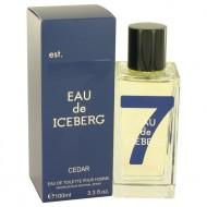 Eau De Iceberg Cedar by Iceberg - Eau De Toilette Spray 100 ml f. herra