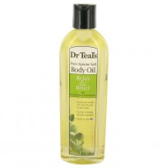 Dr Teal's Bath Additive Eucalyptus Oil by Dr Teal's - Pure Epson Salt Body Oil Relax & Relief with Eucalyptus & Spearmint 260 ml f. dömur