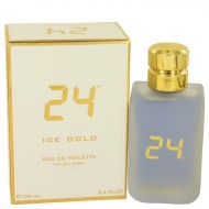 24 Ice Gold by ScentStory - Eau De Toilette Spray 100 ml f. herra