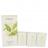 Lily of The Valley Yardley by Yardley London - 3 x 3.5 oz Soap 104 ml f. dömur