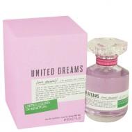 United Dreams Love Yourself by Benetton - Eau De Toilette Spray 80 ml f. dömur
