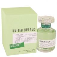 United Dreams Live Free by Benetton - Eau De Toilette Spray 80 ml f. dömur